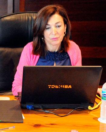 La consejera de Empleo, Industria y Comercio, Margarita Ramos