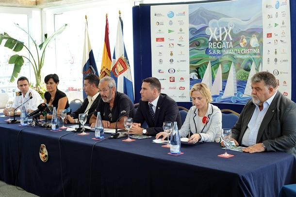 Presentación XIX Regata SAR Infanta Cristina