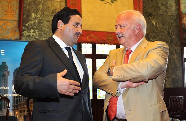 Abdessamad Qaiouh y Melchior Cabildo