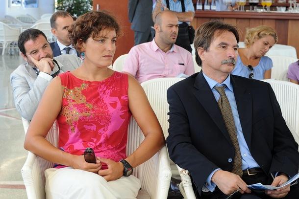 ALICIA CEBRIÁN Y MANUEL SANTAELLA