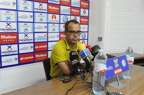 Álvaro Cervera, durante una rueda de prensa.