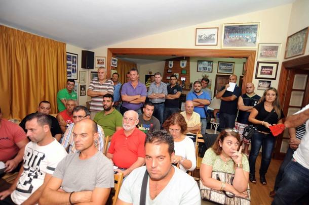 Reunión Federación de Lucha Canaria de Tenerife