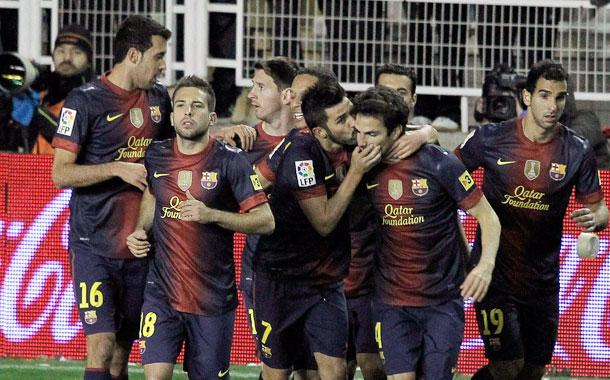FC BARCELONA-RAYO VALLECANO