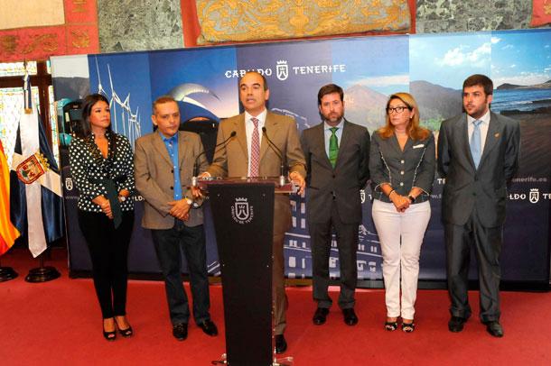 Cabildo Tenerife y Cámara de Comercio
