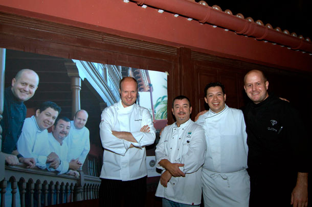 Cocineros internacionales en El Sauzal