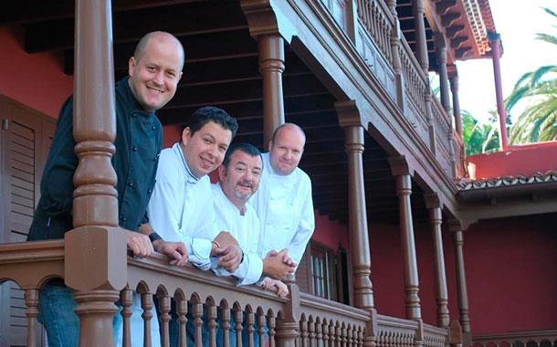 Cocineros de cuatro países - Terrazas de El Sauzal