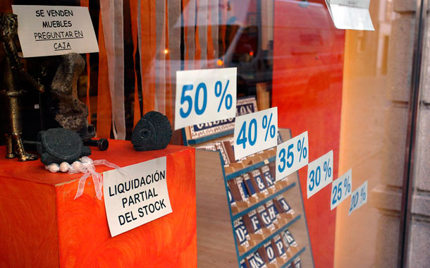 Ventas sector comercial La Palma