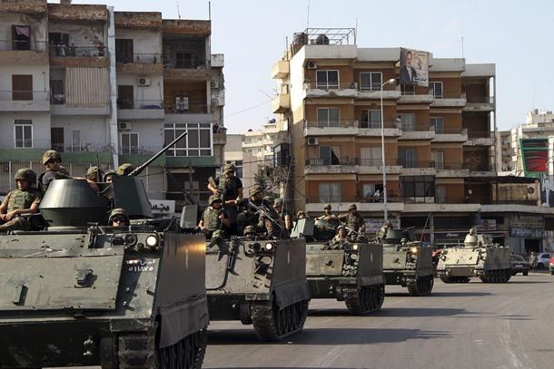 EL EJÉRCITO LIBANÉS CONTIENE LA VIOLENCIA, AUNQUE SIGUE TENSIÓN EN TRÍPOLI