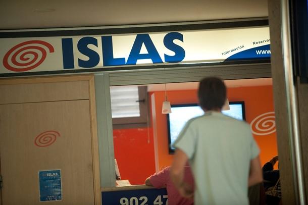 OFICINA ISLAS AIRWAYS EN LOS RODEOS CIERRE