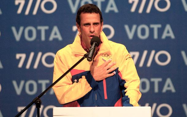 Henrique Capriles - Elecciones 2012