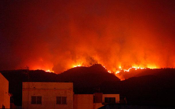 Incendio Tenerife - 2012