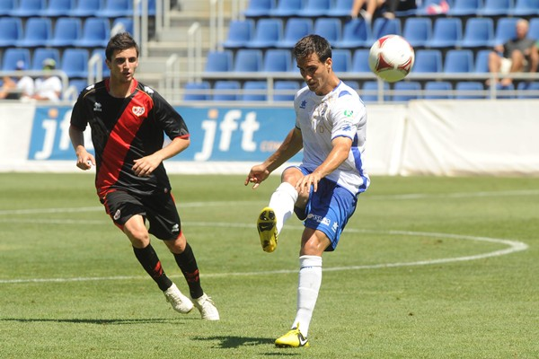Íñigo Ros, jugador del CD Tenerife