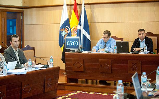 Pleno vivienda alcalde Candelaria
