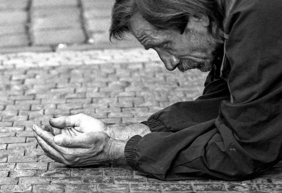 pobreza indigente mendigo