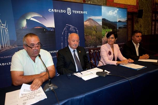 PRESENTACIÓN LIGA CABILDO INSULAR DE LUCHA CANARIA F.P.
