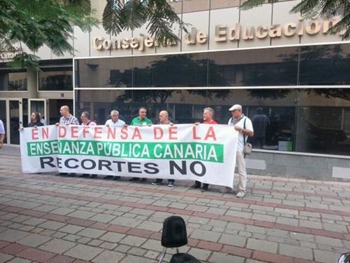 protesta profesores