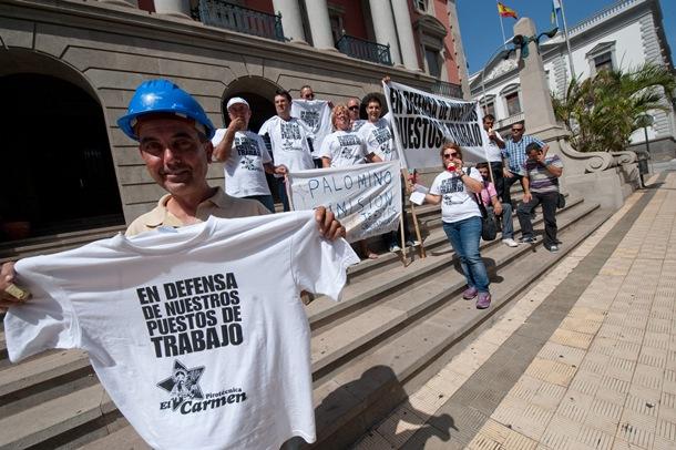 PROTESTA PIROTECNIAS EL CARMEN Y HERMANOS PÉREZ CABRERA