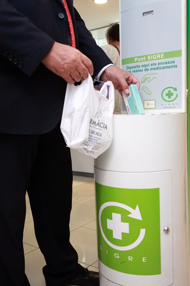 punto Sigre reciclaje medicamentos