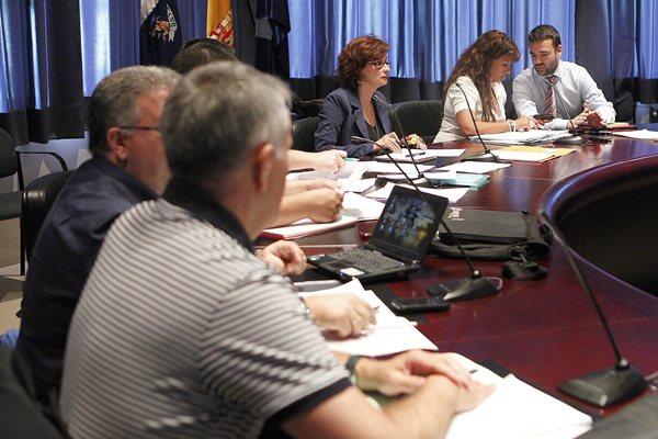 reunión de ayer entre sindicatos y el Gobierno