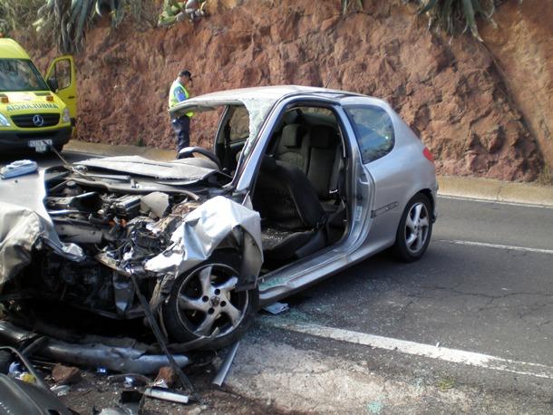 EL SOCORRO TEGUESTE VUELCO ACCIDENTE TRAFICO