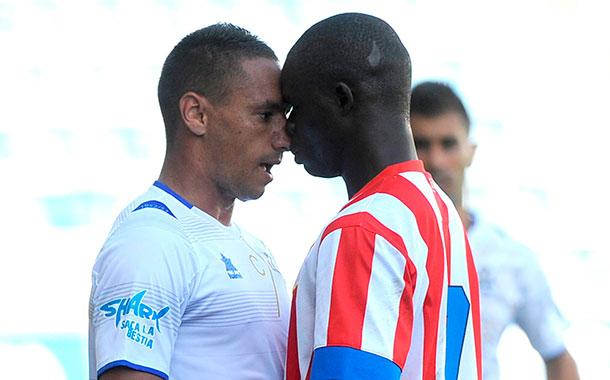 Suso Santana mide fuerzas con Ndoye