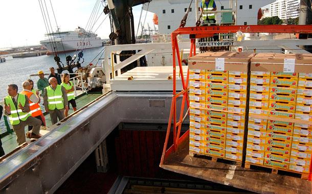 Operaciones de carga - Tomate Canarias