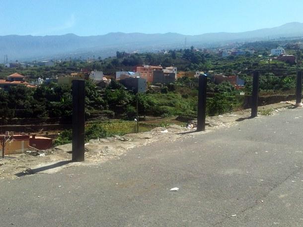 zona de Los Pinitos en el barrio de Tigaiga