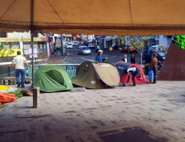 Acampada Tacoronte Antonio y Berta