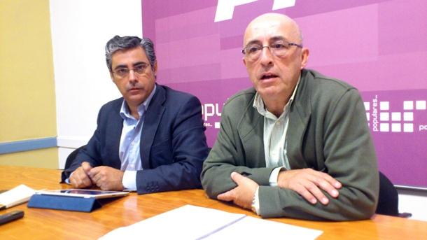 AGUSTÍN MIGUEL GUERRA Y PEDRO SUÁREZ PP LA LAGUNA