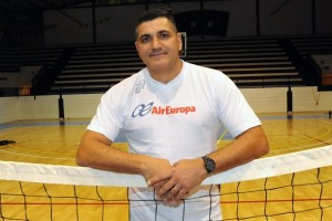Ambrosio González, entrenador del CV Aguere JG