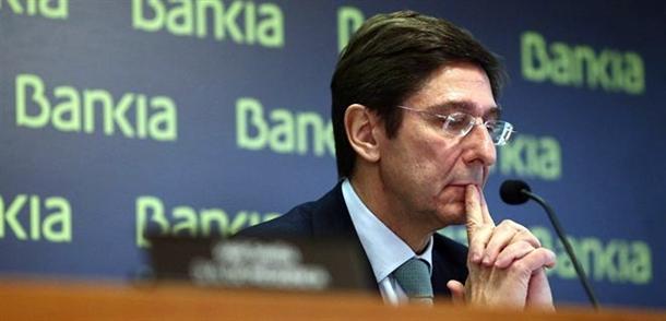 PRESIDENTE DE BANKIA JOSE IGNACIO GOIRIGOLZARRI