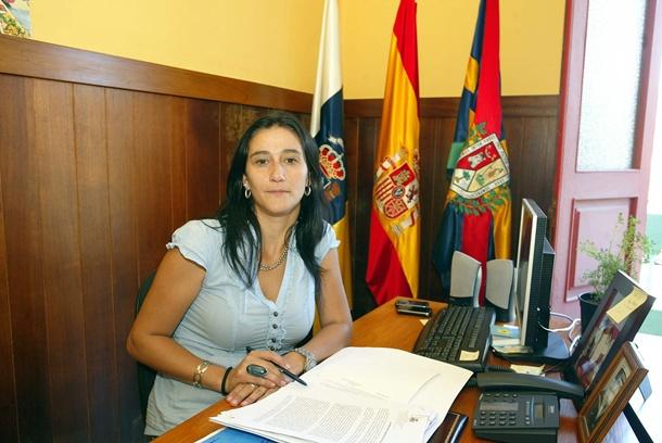 CARMEN ACOSTA ALCALDESA DE TAZACORTE
