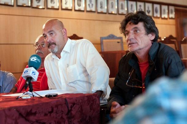 Cho Vito Antonio Gonzalez Tomas Perez encierro vecinos Cho Vito salon plenos Candelaria