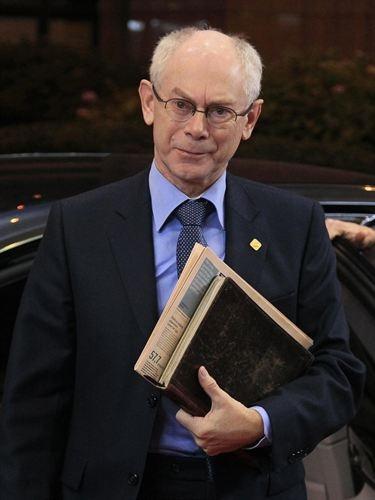 El presidente del Consejo Europeo Herman Van Rompuy