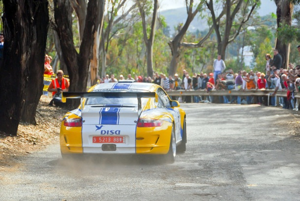 Enrique Cruz Porsche 911 DISA