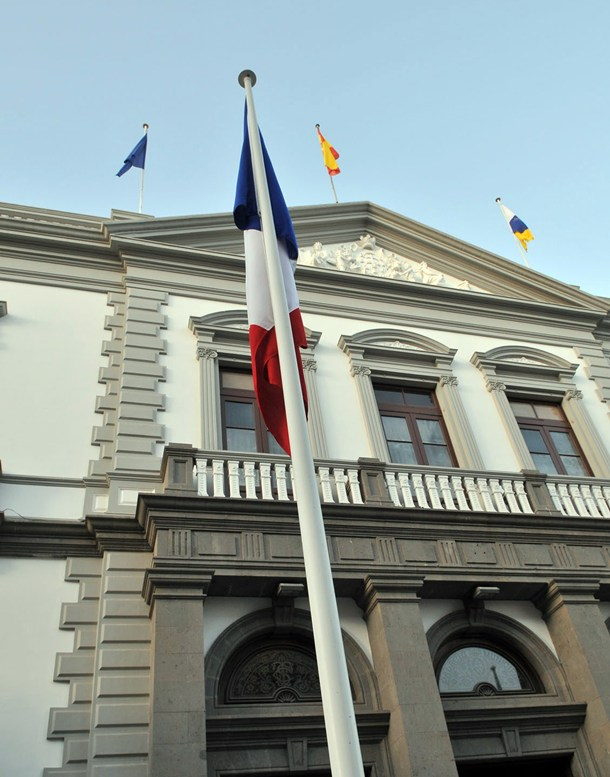 Fachada Ayuntamiento Santa Cruz de Tenerife