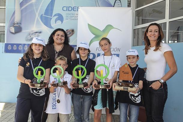 Gran Premio Fundacion DISA de Vela Sergio Armas Coromoto Yanes Raquel Montes