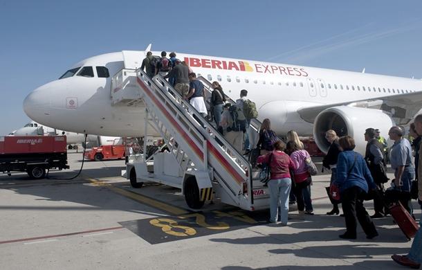 Iberia Espress vuelo La Palma-Madrid
