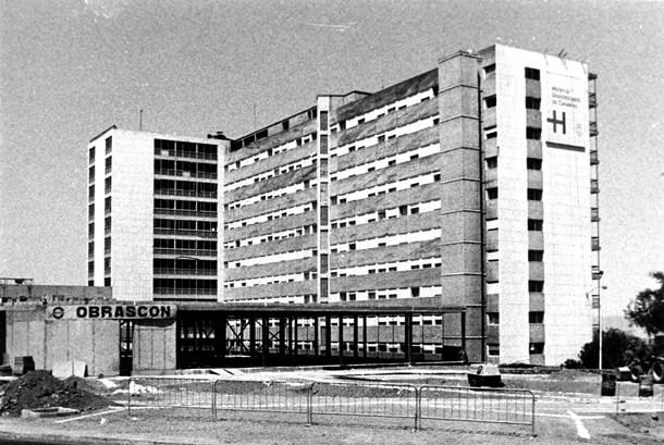 Imagen antigua Hospital Universitario de Canarias (HUC)