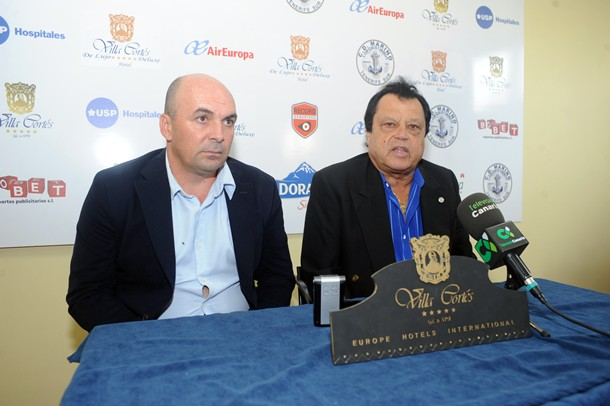 Jose Juan Almeida y Jose Manuel Barrios