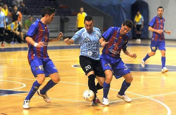 Jugada del Uruguay Tenerife-Levante Dominicos Fútbol Sala  SM