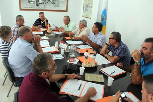 Junta de Gobierno Federación Nacional de Lucha Canaria SM