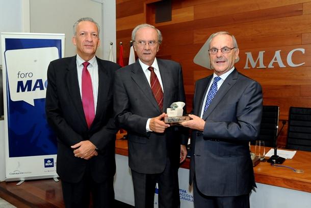 Manuel Rodríguez, José Fernando Rodríguez de Azero y Martín García premios MAC JG