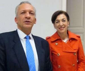 Manuel Rodríguez (MAC) y Margarita Ramos