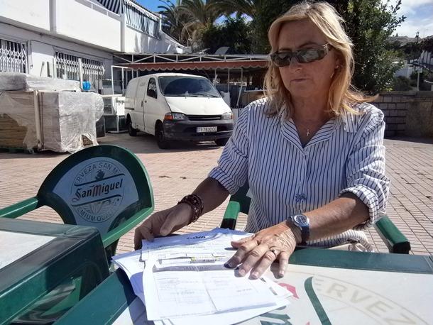 MARY CARMEN CAÑADILLA AFECTADA VUELO CERTIFICADO DE RESIDENCIA