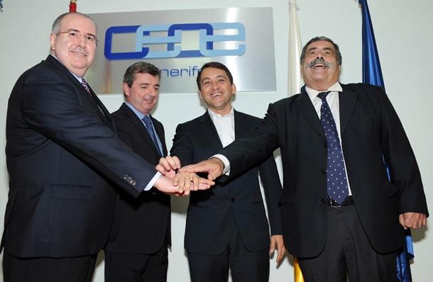 Pedro Alfonso Martín, Eduardo Bezares, José Manuel Bermúdez y Pedro Rodríguez Zaragoza, Plan Especial Puerto SM