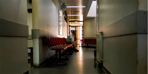 Sala espera centro salud