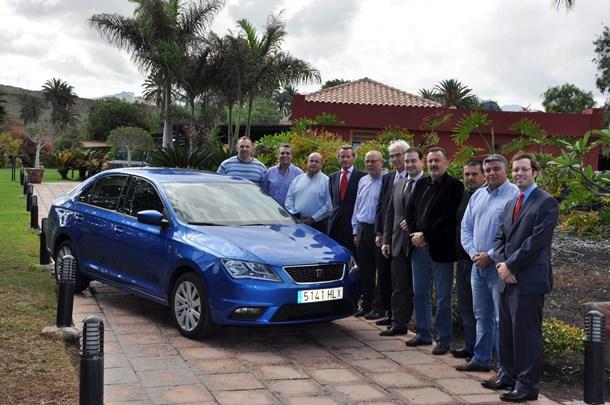 Seat Toledo jurado Mejor coche del año en Canarias