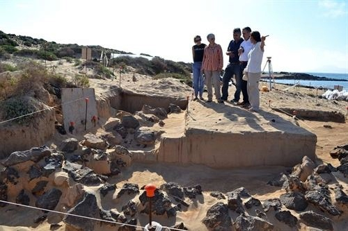 Yacimiento romano Isla de Lobos