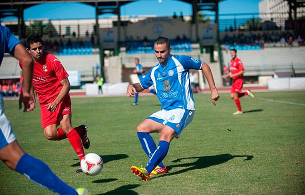 CD Marino, durante uno de los partidos esta temporada